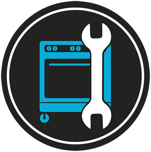 preventive maintenance oven and wrench icon