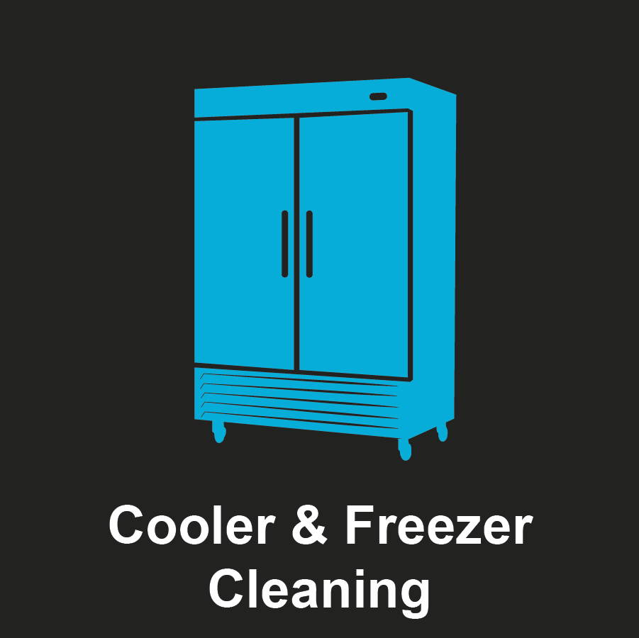 Commercial Cooler and Freezer Graphic