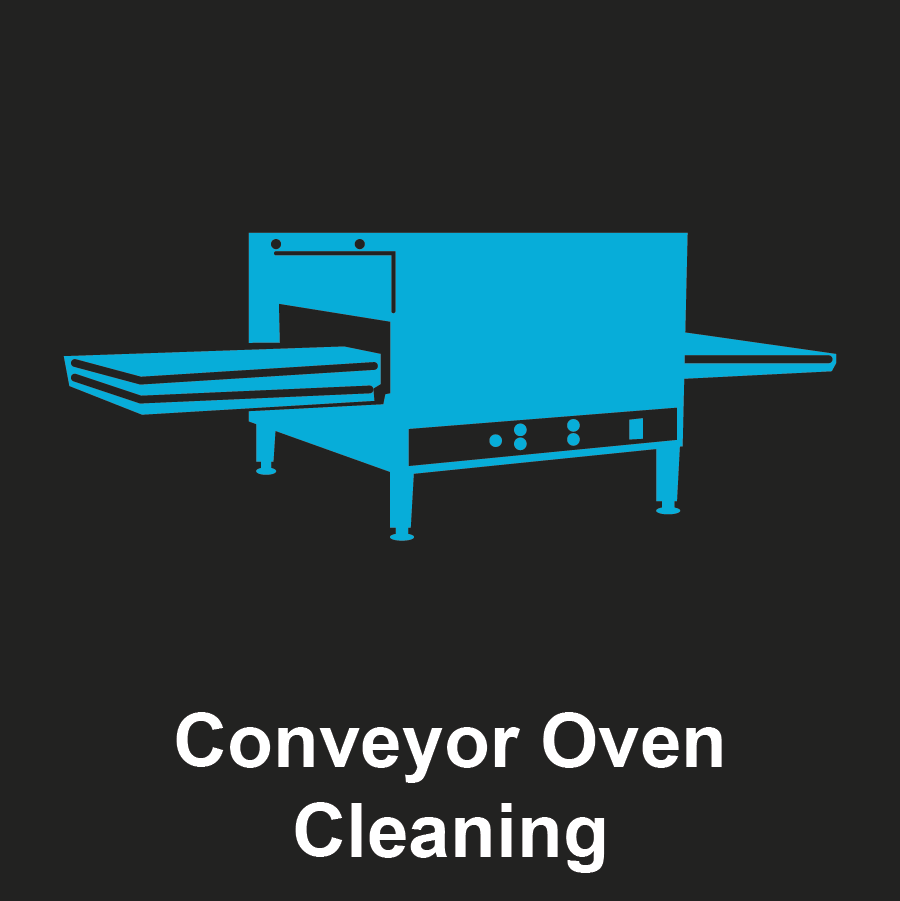Commercial Conveyor Oven Graphic