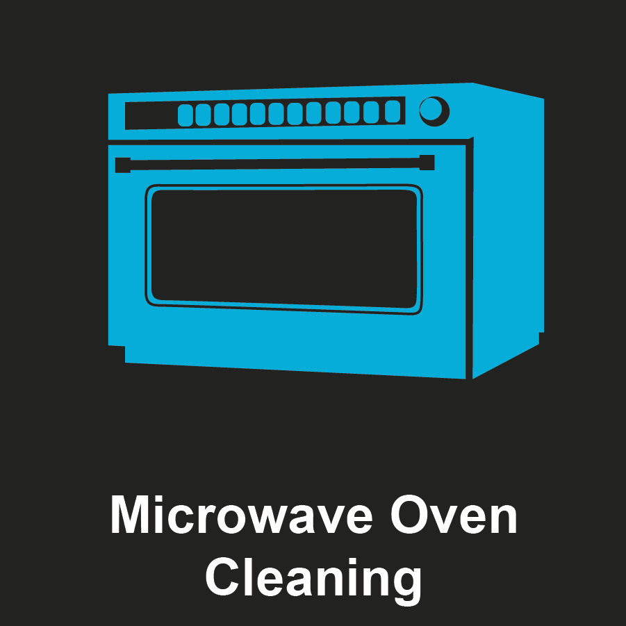 Commercial Microwave Oven Graphic