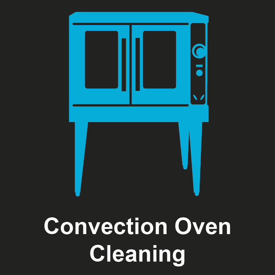 Commercial Convection Oven Graphic