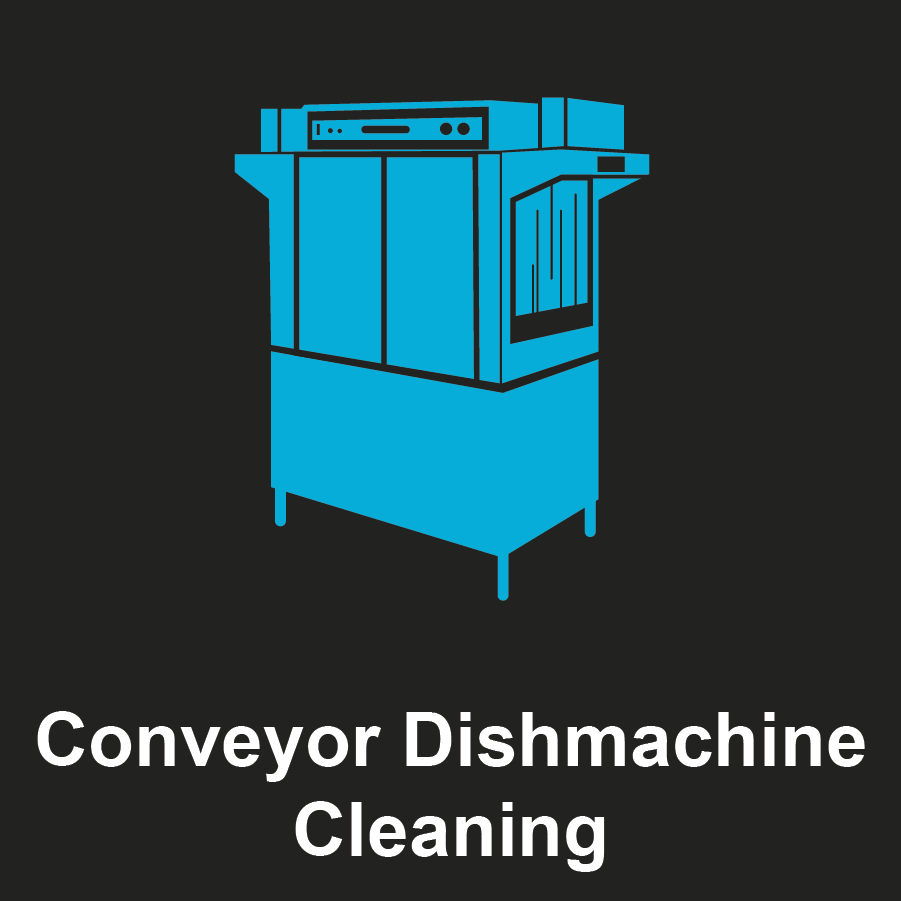 Commercial Conveyor Dishmachine Graphic