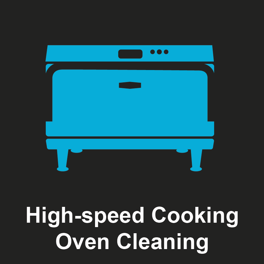 Commercial High-speed Cooking Oven Graphic