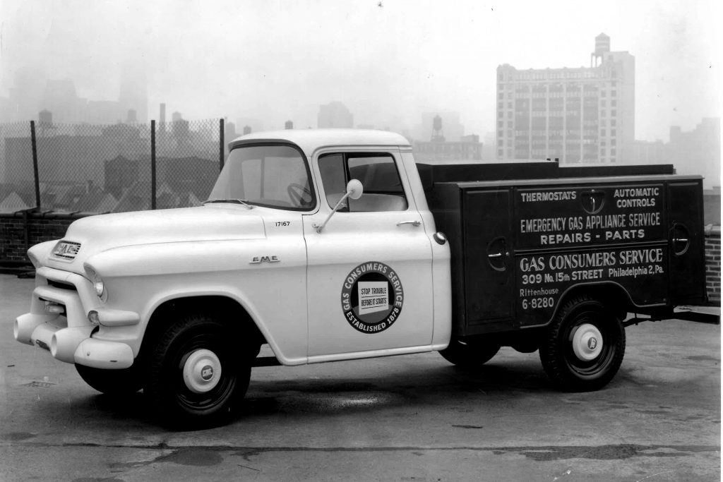 Gas Consumer Services Service Truck